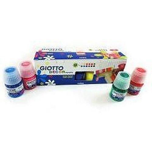Farby akrylowe Decor acrylic 12 kolorów GIOTTO (8000825006159)