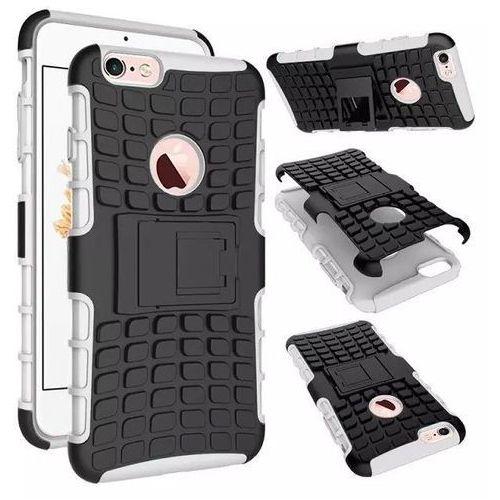 Perfect Armor Biały   Pancerna obudowa etui dla Apple iPhone 6 / 6S - Biały z kategorii Futerały i pokrowce do telefonów