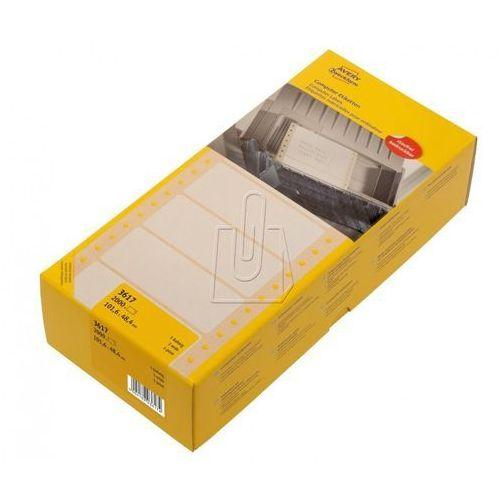 Etykiety ZF uniwersalne do drukarki igłowej 101,6x48,4mm 2000 szt. 3617