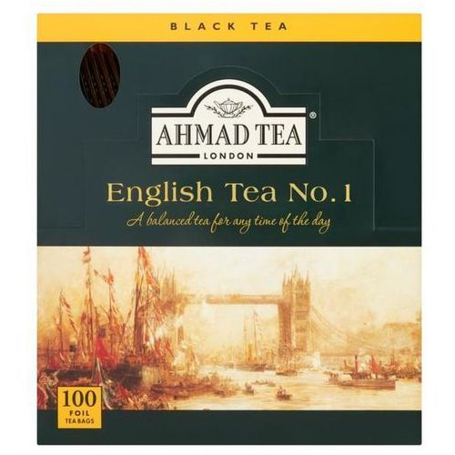 Herbata eksp. AHMAD TEA English No.1 op.100 kopert