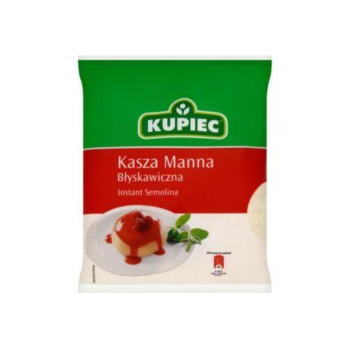 Kasza manna błyskawiczna 400 g Kupiec