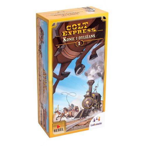 Colt Express Konie i dyliżans (3770002176757)