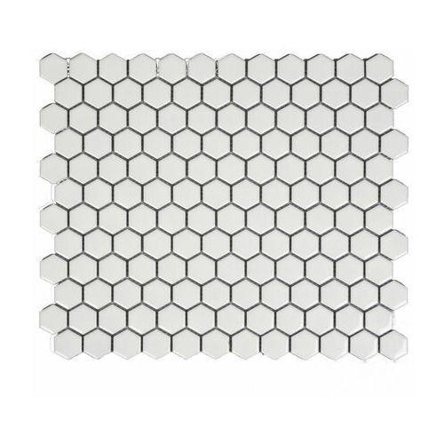 Mozaika Hexa White Glossy 26.5 x 31 Artens (3276007150742)