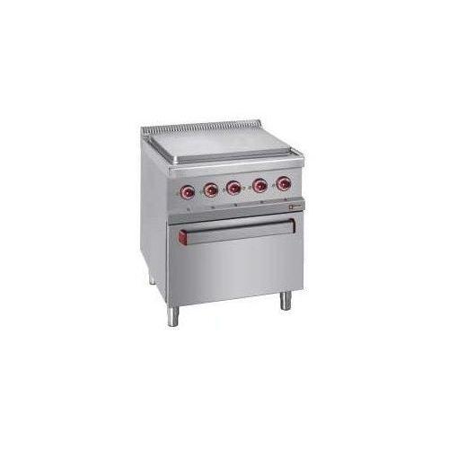 Kuchnia elektryczna 4 płytowa z piekarnikiem el. GN 2/1 | 14300W