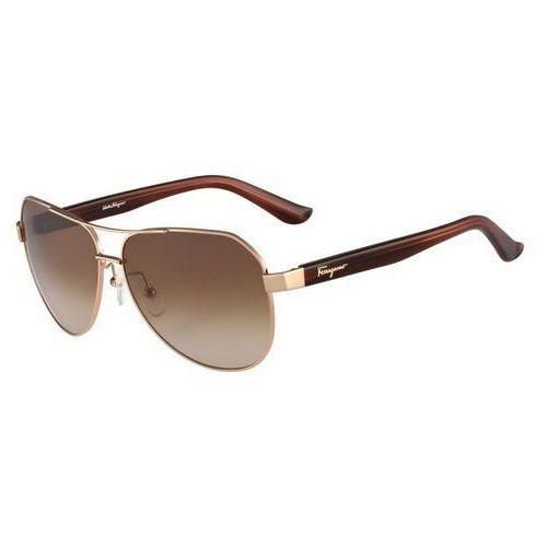 Okulary słoneczne sf 138sa 688 marki Salvatore ferragamo