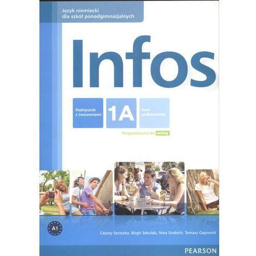 INFOS 1A PODRĘCZNIK + ĆWICZENIA + MP3 CD (2012)