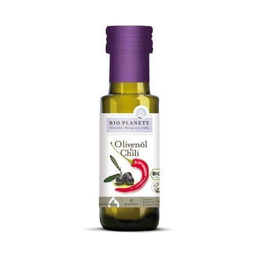 Bio planete (oleje i oliwy) Oliwa z oliwek z chili bio 100 ml - bio planete