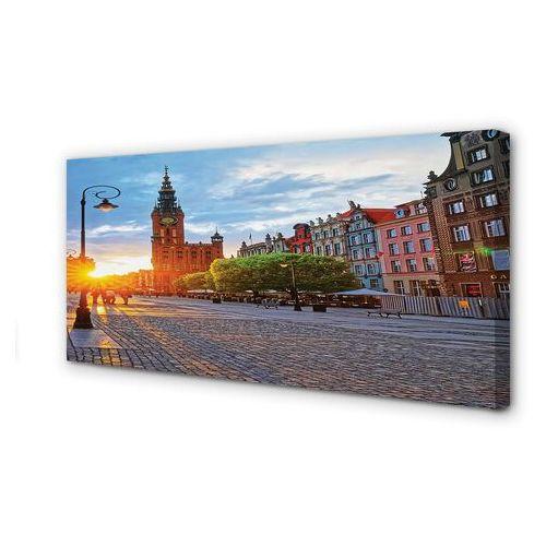 Obrazy na płótnie gdańsk stare miasto wschód słońca marki Tulup.pl