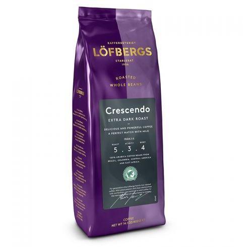 - crescendo extra dark roast - kawa ziarnista - 400g marki Lofbergs