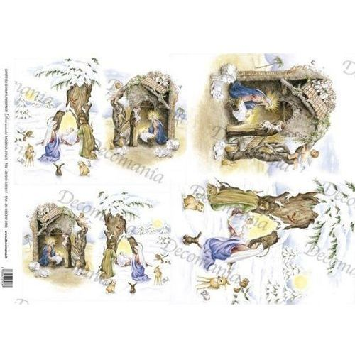 Decomania Papier ryżowy 35x50 cm