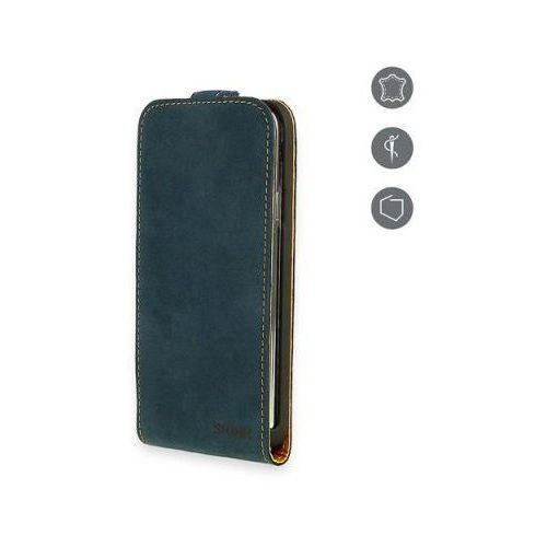 Etui  flap card do iphone 6/6s granatowy marki Skink