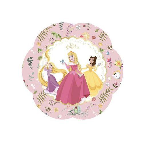 Talerzyki urodzinowe True Princess - Księżniczki - 25 cm - 4 szt. (5201184889572)