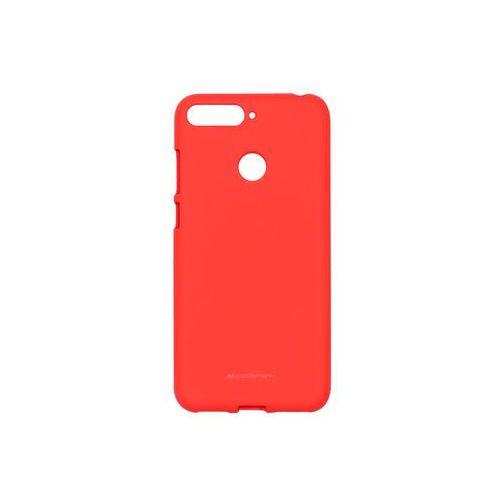 Huawei Honor 7A - Mercury Goospery Soft Feeling - czerwony, kolor czerwony