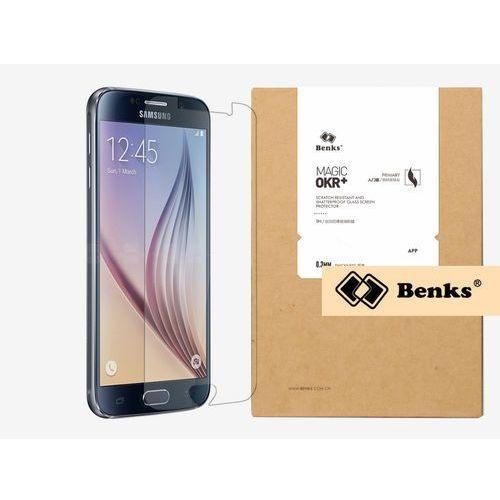 Samsung Galaxy S6 - szkło hartowane Benks OKR+ PRO - czarny