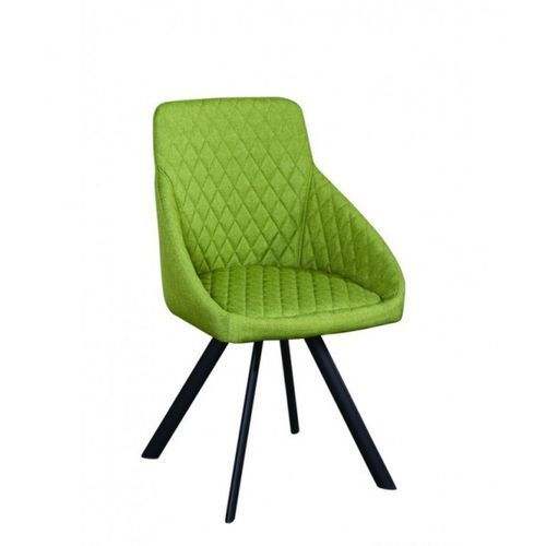 Signu Design Krzesło OTTO zielone i brązowe