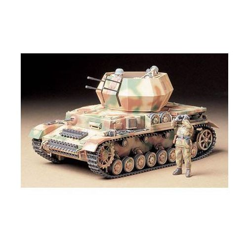 Tamiya German flakpanzer iv wirbelwind - (4950344997022)