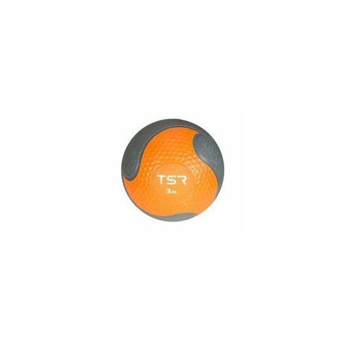 TSR Piłka lekarska kauczukowa- Pomarańczowy, 3 kg - Pomarańczowy \ 3 kg