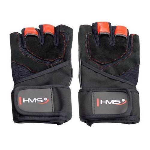 Hms Rękawice fitness rst01 (rozmiar xl) czarno-czerwony (5907695523164)