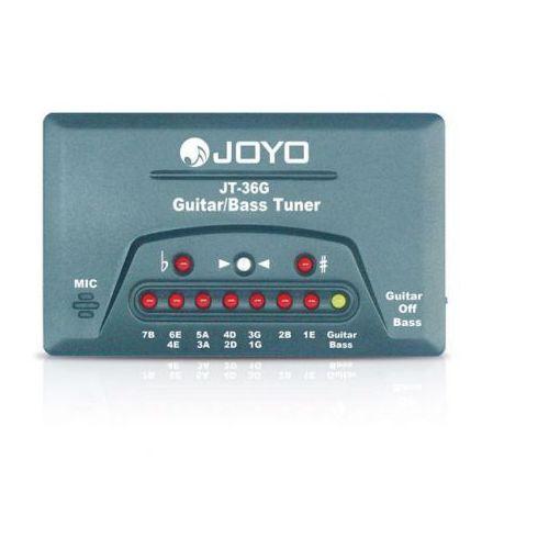 Joyo jt 36g - tuner elektroniczny do gitary i basu (6943206713616)