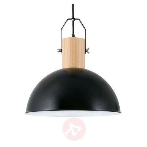Faro margot lampa wisząca czarny, ciemne drewno, 1-punktowy - nowoczesny - obszar wewnętrzny - margot - czas dostawy: od 8-12 dni roboczych marki Faro barcelona