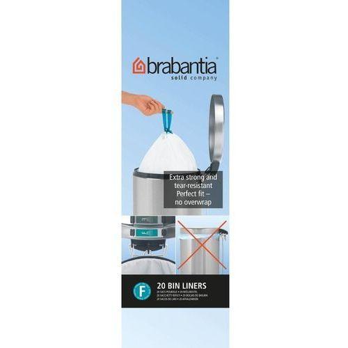 Brabantia - worki na śmieci - rozmiar f – 20l slimline - 20 szt