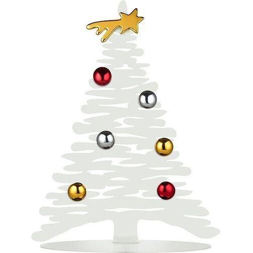 Alessi Dekoracja świąteczna bark for christmas biała
