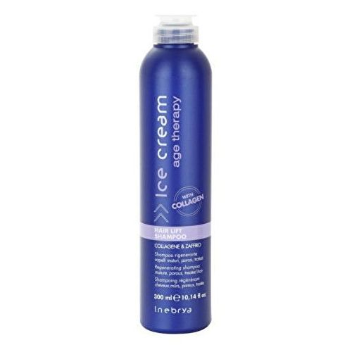 age therapy szampon regenerujący do włosów dojrzałych i porowatych (regenerating shampoo mature, porous, treated hair) 300 ml marki Inebrya
