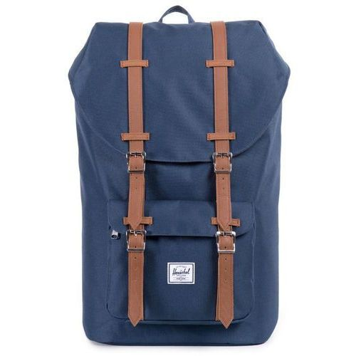 Herschel little america plecak niebieski 2018 plecaki szkolne i turystyczne (0828432005932)