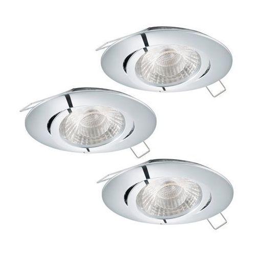 Eglo 95358 - Zestaw 3x LED Oprawa wpuszczana TEDO 3xGU10-LED/5W/230V, 95358