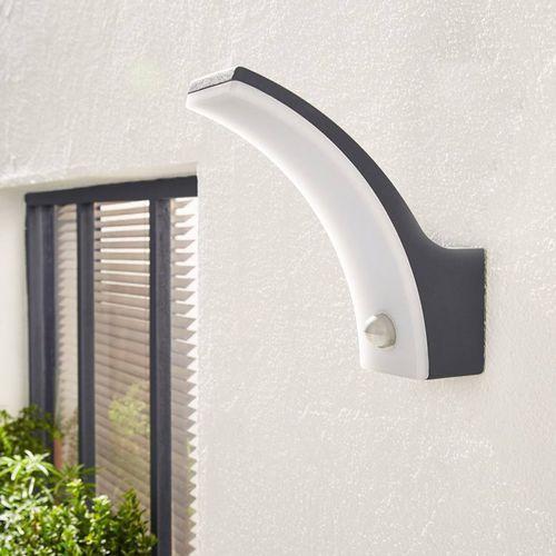 Inspire Lakko - applique d'extérieur led avec détecteur aluminium h22cm-