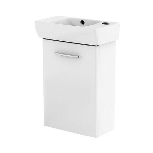 KOŁO NOVA PRO zestaw: umywalka 45 cm z otw. po PRAWEJ stronie + szafka, kolor BIAŁY POŁYSK M39003000