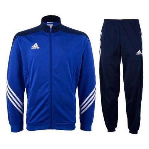Dres juniorski Adidas Sereno14 PES F49716 niebieski - Czarny ||Biały ||Czerwony (2010000500859)