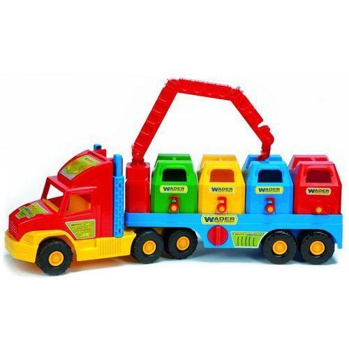 WADER Super Truck Śmieciarka 36530, 5900694365308