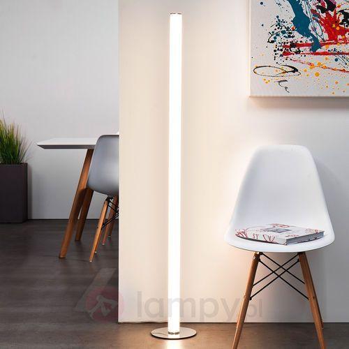 Brilliant lampa stojąca LED Chrom, 1-punktowy - Design - Obszar wewnętrzny - Brilliant - Czas dostawy: od 4-8 dni roboczych