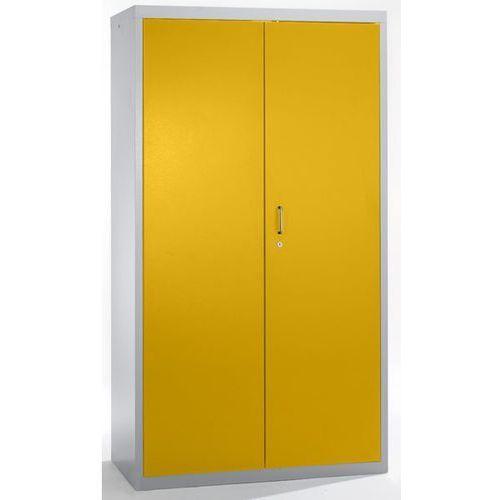 Szafa ekologiczna, drzwi zamknięte, wys. x szer. x głęb. 1800x1000x500 mm, 7 pół
