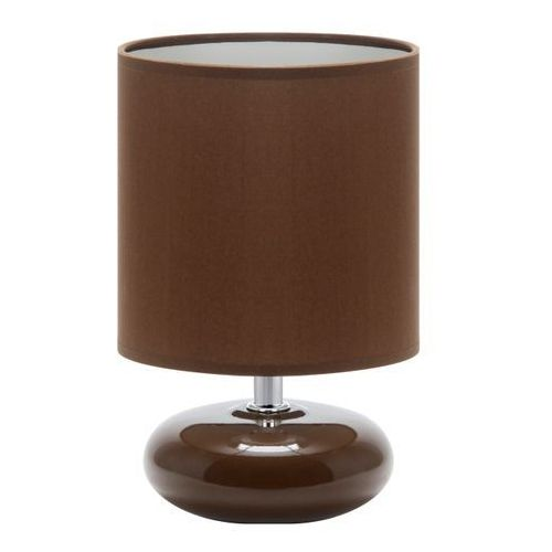 Lampka stołowa PATI E14 BROWN (5901477331459)