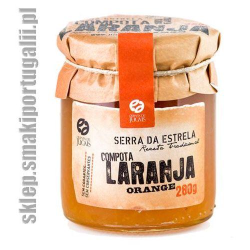 Portugalska konfitura z pomarańczy 280g marki Quinta de jugais