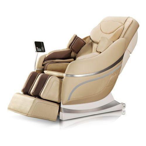 Fotel do masażu inSPORTline Mateo czary - Kolor Beżowy, kolor beżowy