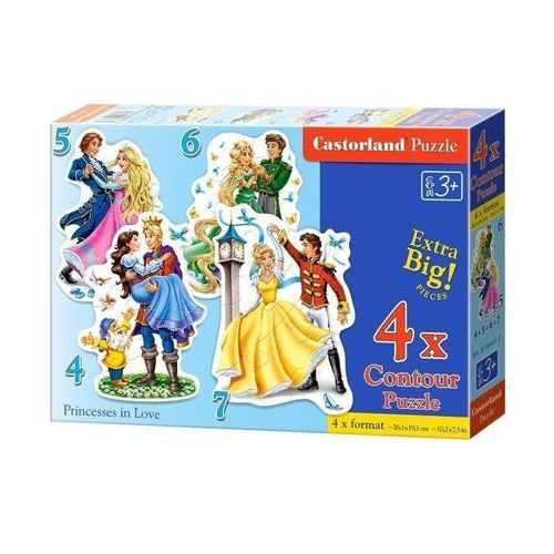 Puzzle 4-5-6-7 Princesses in Love (5904438004461)