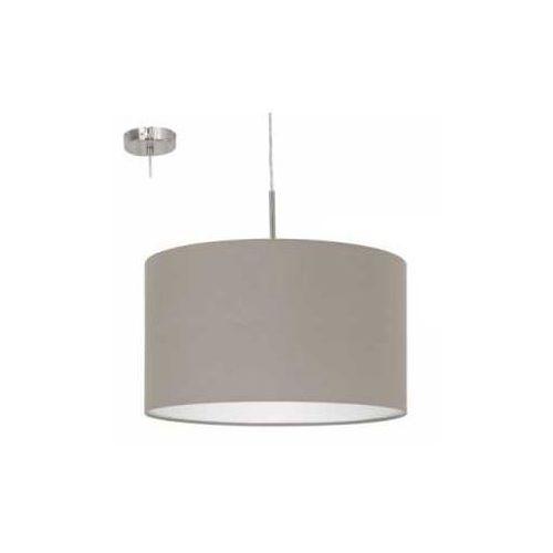 Lampa wisząca Eglo Pasteri 31572 z abażurem 1x60W E27 fi38