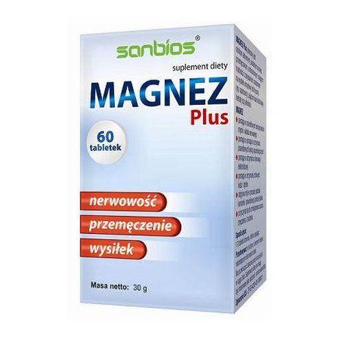 Tabletki Sanbios Magnez Plus 60 tabletek