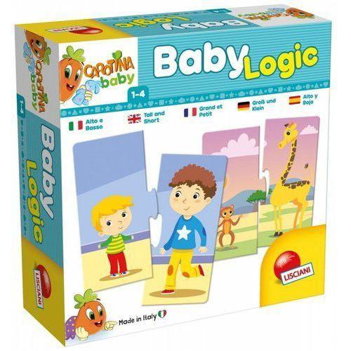 Gra carotina baby logic - wysoki czy niski? - darmowa dostawa od 199 zł!!! marki Liscianigiochi