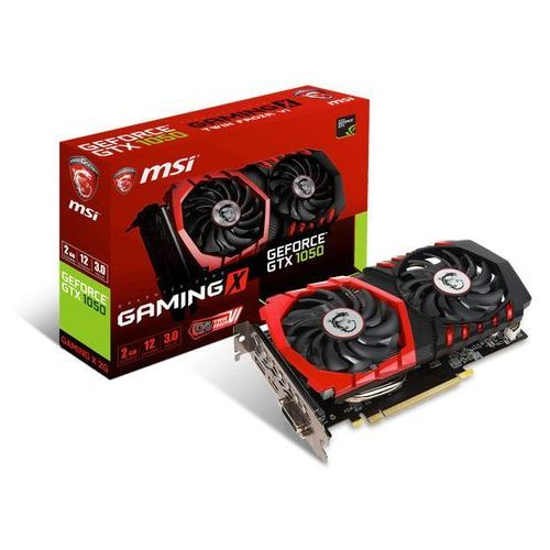 MSI GeForce CUDA GTX 1050 Gaming X 2GB DDR5 128BIT DVI/HDMI DARMOWA DOSTAWA DO 400 SALONÓW !!, GEFORCE GTX 1050 GAMING X 2G