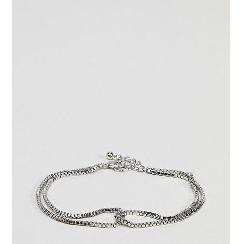 Designb chain bracelet in silver exclusive to asos - silver marki Designb london