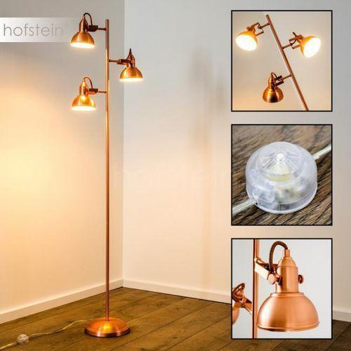 Reality gina lampa stojąca miedź, 3-punktowe - nowoczesny - obszar wewnętrzny - gina - czas dostawy: od 2-4 dni roboczych