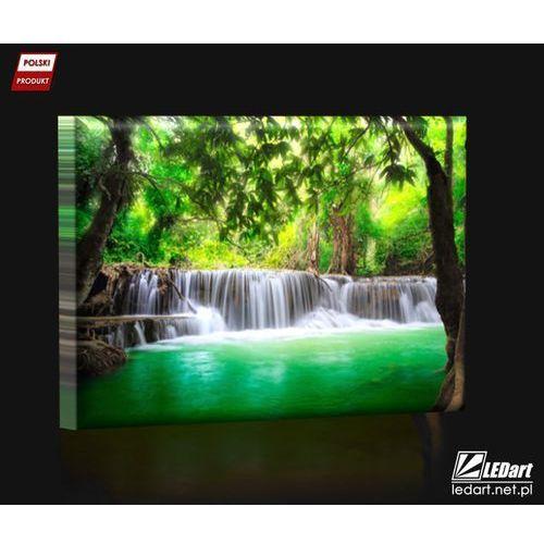 Wodospady W Tajlandii Obraz Podświetlany Led Morizon Shopping