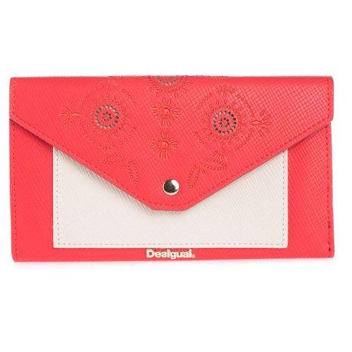 Desigual  new vanesa wallet czerwony uni