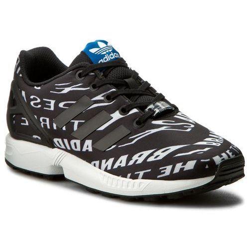 Buty adidas - Zx Flux J BB2410 Cblack/Cblack/Ftwwht, kolor czarny