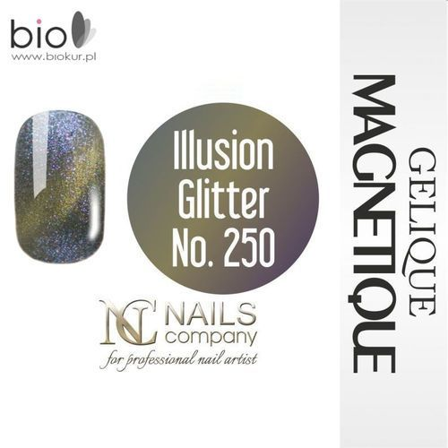 Nails company Gelique magnetique - illusion glitter no. 250 - 6 ml