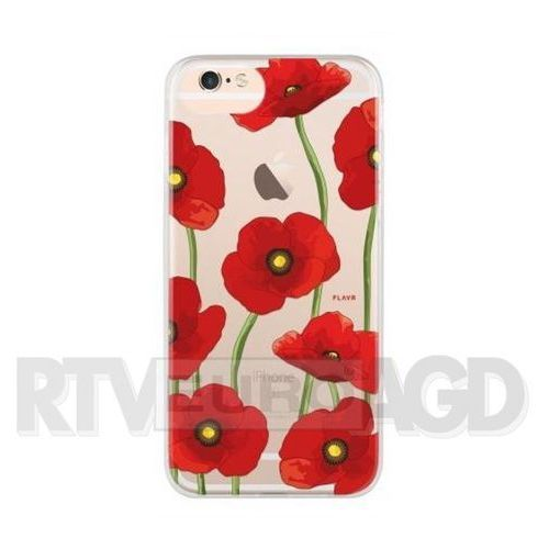 Etui FLAVR iPlate Poppy do iPhone 6/6S/7/8 Wielokolorowy (28423), kolor wielokolorowy
